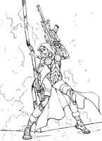 Reverend Moira (Inks) by k1lleet