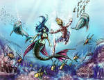 How I became the Sea by k1lleet