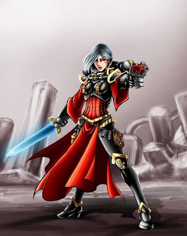 Sister Of Battle by k1lleet