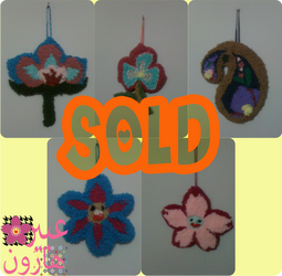 Updated:- 5 of 9 Wall hangings Sold by ADPinky