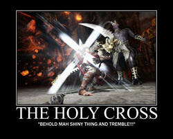 The Holy Cross by Samuraicore