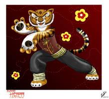 Kung Fu Tigress by EmeraldSora