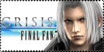 Sephy Crisis Core Stamp by EmeraldSora