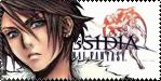 Squall Dissidia Stamp by EmeraldSora