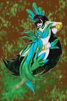 Digimon Reboot_Bambusmon by EmeraldSora