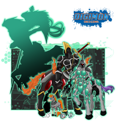 Digimon Origins_Equimon by EmeraldSora