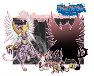 Digimon Origins_Maaumon by EmeraldSora