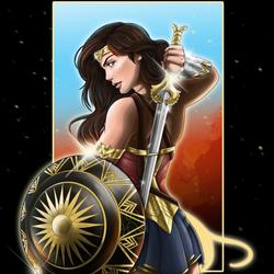 Wonder Woman by EmeraldSora