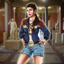 Sukajan - Wonder Woman by EmeraldSora