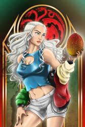 Sukajan - Daenerys Targaryen by EmeraldSora