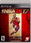 NBA 2K17 Blake Griffin cover by PanosEnglish