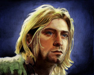 Kurt Cobain by IAmThePotatoMan