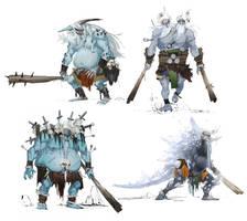 Jotunn Viking Roughs by Eyecager