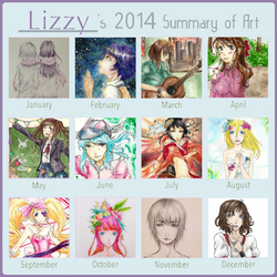 Lizzy's Summary of Art 2014 Meme by LostLizzy