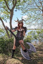 Warrior Elf Queen by Alexia-Jean-Grey