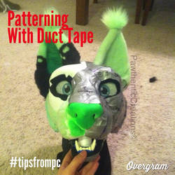 Fursuit Patterning Tutorial (read below) by PawthenticCreations
