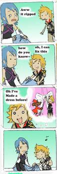KH BBS Spoof: Dress by jojo56830