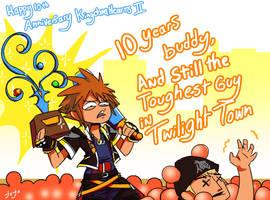 10 Year Struggle by jojo56830