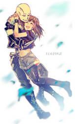 [Undertale] Echotale by NoahXica