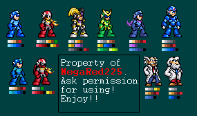 16-Bit Prototypes and Geniuses Sprite by MegaRed225