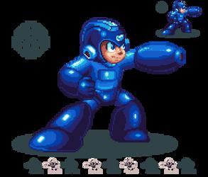 Viva La Blue Bomber by MegaRed225