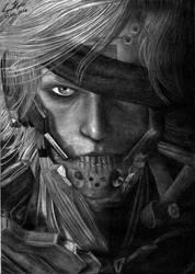 MGS RISING - Raiden by Dark4Light