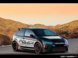 Ford Focus RS500 Hot Pursuit by ilPoli