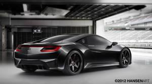 Honda NSX Concept by ilPoli