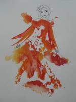 Goddess of Fire by nellysunshine