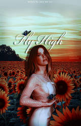 Fly High [Wattpad Book Cover] by iamlulublaque