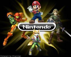 Nintendo All-Stars Wallpaper by Wispmage
