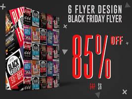 Black Friday Flyer Bundle by GraphicDiamonds