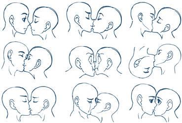 Anime Kisses by SonicRocksMySocks