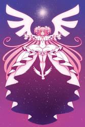 Print - Goddess Madoka by SonicRocksMySocks