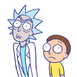 Rick and Morty by SonicRocksMySocks