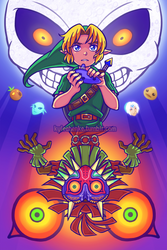 Majora's Mask by SonicRocksMySocks