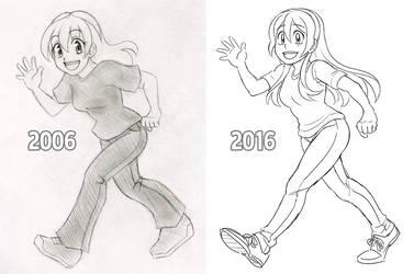 Improvement! by SonicRocksMySocks