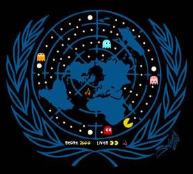 The real U.N. logo by JoniGodoy