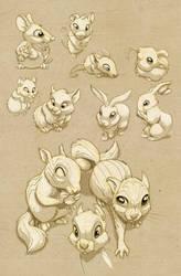 Cute Rodents by JoniGodoy