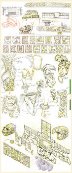 Maya Concepts and sketches by JoniGodoy