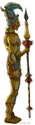 Maya Warrior by JoniGodoy
