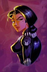 Female Black Panther by JoniGodoy