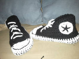 Converse slippers with street soles by PlusOneCharisma