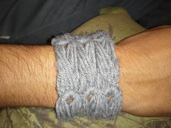 Broomstick lace bracelet by PlusOneCharisma