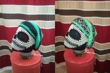 Custom Reflective Slouch Hat! by PlusOneCharisma