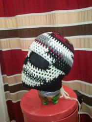 Custom Crochet *Scrap* Beanie by PlusOneCharisma