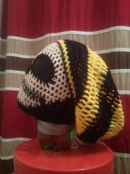 Custom Crochet Pittsburgh Steelers Slouch Hat by PlusOneCharisma