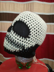 Custom Crochet Skull Ski Mask by PlusOneCharisma