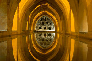 Seville Alcazar by EverildWolfden