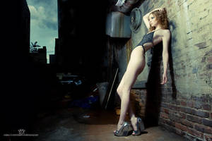 Bianca in the Dark Alley by tmronin